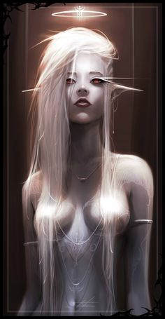 Light elf by Alatrice on DeviantArt