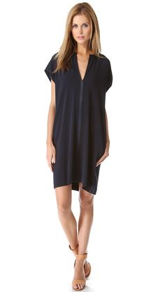 Vince. Classic. LA perfect. Great slouch dress, that can be dressed up or worn casual.