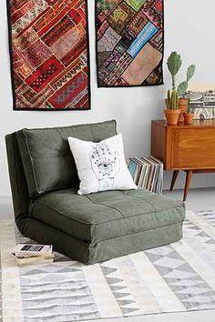 4040 Locust Canvas Floor Chair - Urban Outfitters