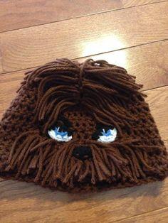 204f11550a7 Chewbacca Beanie Chewbacca Hat Chewy Beanie Star Wars Beanie Chewbacca  Costume Star Wars Costume Woo