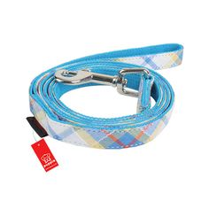 Mezzo Dog Leash by Puppia - Blue - https://barkavenuebycucciolini.ca/product/mezzo-dog-leash-by-puppia-blue/