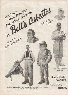 Bell's Asbestos Ad.