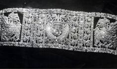 THE DUTCH EAST INDIES MAGNIFICENT DIAMOND BRACELET~ The huge East Indies diamond bracelet, a gift from the people of the Dutch Indies present day Indonesia to Princess Juliana on her marriage to Prince Bernhard in 1937. Made by The Hague jeweler Bouman, the diamond bracelet contain 1700 South African diamonds sourced from Ascher in Amsterdam. ~ Now remodeled and worn by Queen Máxima as two bracelets.