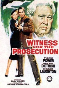 Resultado de imagem para Testemunha de acusação filme