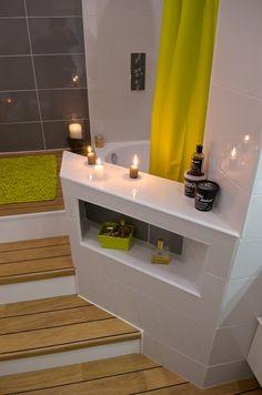 Estrade baignoire douche bricolage pinterest - Estrade salle de bain ...
