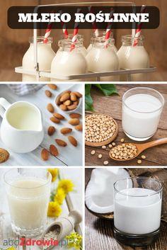 Różne rodzaje mleka roślinnego w szybkim tempie zyskują popularność. Piją je nie tylko osoby z nietolerancją laktozy, weganie, ale również wszyscy ci, którzy nie przepadają za zwykłym, krowim mlekiem. Na sklepowych półkach pojawia się coraz więcej ich rodzajów – migdałowe, sojowe, ryżowe, kokosowe, owsiane, orzechowe. Czy wiesz, że bez problemu możesz przygotować taki napój w domu?  #mleko #roślinne #zdrowie #nabiał #migdałowe #kokosowe #ryżowe #owsiane #dairy #milk #rice #almond #abcZdrowie