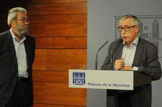 martes 29 de julio de 2014  CCOO y UGT presentan al Gobierno sus propuestas para mejorar el empleo y frenar la exclusión socialRueda de prensa posterior a la reunión con Rajoy