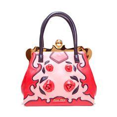 Miu Miu Сумки LOOK 21 ❤ liked on Polyvore featuring bags, handbags, borse, miu miu, purses, pink purse, purse bag, pink handbags, man bag and miu miu handbags
