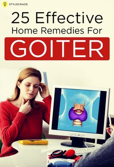 how to get rid of a goiter
