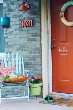 the doors, front doors, porch