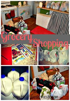 cut your grocery bill in half! There's even a printable staple list and meanu plans to help save your family money! grocery budgets
