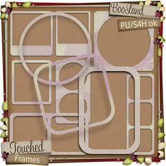 #Touched #Frames by #Booland Designs now available at the Studio $1.97
