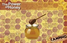 You can find some of the healing abilities that honey gives us generously!
