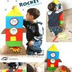 A Cardboard Rocket