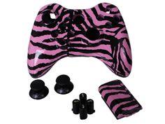 DIY Kit-- Pink Zebra Evil D-Pad Kit
