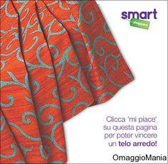Vinci telo arredo con Smart Shoppers Italia - http://www.omaggiomania.com/concorsi-a-premi/vinci-telo-arredo-con-smart-shoppers-italia/
