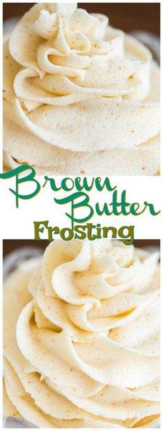 Brown Butter Frosting is magical! My basic buttercream recipe gets a major upgrade. Made with nutty, caramel-like, fragrant, toasty, rich brown butter.