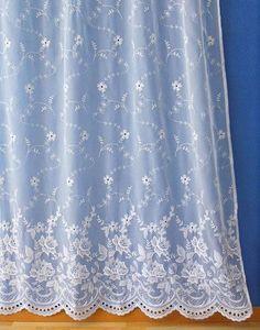 White Sheer Curtain Verone