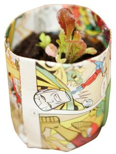 Start your seeds in biodegradable pots that can go directly into the ground — no transplant shock!