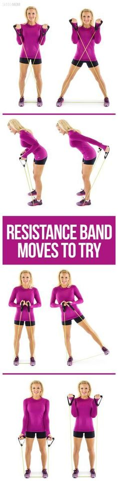 7 Epic Exercises with Resistance Bands Looking for a total body workout?  Try these resistance band exercises!