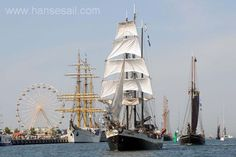 Tall Ship Störtebeker at Hanse Sail Rostock