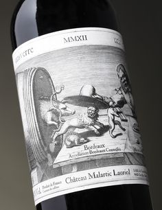 Univerre Wine / Malartic Lauriol on Packaging of the World - Creative Package Design Gallery