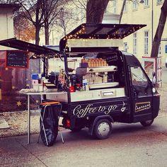 Espresso Mobil @ Campus der Universität Wien - Altes AKH.  Love Coffee - Makes Me Happy
