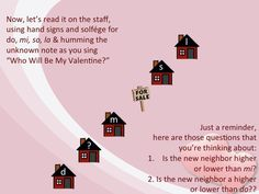 """The Valentine's Day version of """"Bow Wow Wow""""  Music a la Abbott: Who Will Be My Valentine?"""