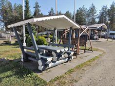Caravan Kalajärvi, Peräseinäjoki, Seinäjoki. - Etelä-Pohjanmaa, Suomi Finland. Caravan, Finland, Pergola, Outdoor Structures, Outdoor Pergola, Camper Trailers, Pergolas