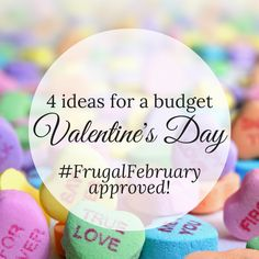 Want to celebrate this Valentine's Day, but have a small budget? Read about 4 ideas for a approved February Tru Love, Frugal, Valentines Day, Saving Money, Budgeting, February, Ideas, Valentine's Day Diy, Save My Money