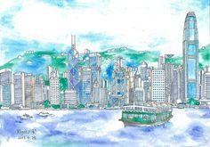 star ferry  /  Kiyoko Yamaguchi Artworks