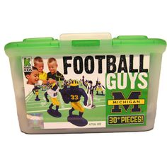 Michigan Football Guys Figurine Toy      My son loves these little guys!! He plays with them all the time!