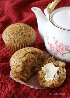 These vanilla chai muffins highlight a wonderful blend of spices: cardamom, ginger, nutmeg, cloves, star anise, vanilla. With a perfect texture and crunchy sugar topping, the muffins have a slight richness to them that begs for a slather of mascarpone or a drizzle of honey. Feast on one (or two!) alongside a tea you love.