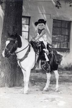 girl on a pony by The Big Crafty, Asheville, via Flickr