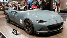 This Mazda looks like a happy shark to me! 2016 Chicago Auto Show recap