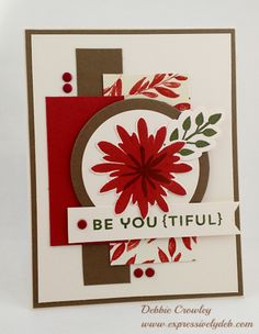 Flower Patch Beautiful by deb2stamp - Cards and Paper Crafts at Splitcoaststampers