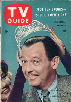 """Jack Bailey of """"Queen for a Day""""  June 22-28 1957"""