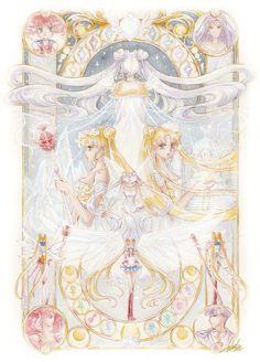 Sailor Moon Crystal, Cristal Sailor Moon, Arte Sailor Moon, Sailor Moon Fan Art, Sailor Moon Character, Sailor Moon Manga, Neo Queen Serenity, Princess Serenity, Manga Anime