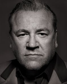 Ray Winstone by Simon Harsent British Celebrities, British Actors, Ray Winstone, Beautiful Men, Beautiful People, Actor Secundario, Portrait Photography Men, Old Hollywood Stars, People Of Interest