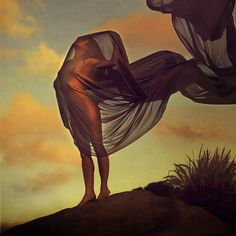 becoming clouds by Brooke Shaden 2011 Fabric Photography, Body Photography, Fine Art Photography, Portrait Photography, Erotic Art, Female Art, Photoshop, Clouds, Painting