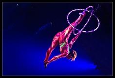 Europapark aerial hoops