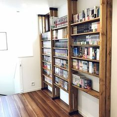 The solution here! A storage method that allows you to locate your manga place and your own pl. Diy Interior, Room Interior, Home Room Design, House Design, Kitchen Pantry Design, Diy Regal, Basement Bedrooms, Japanese House, Diy Wood Projects