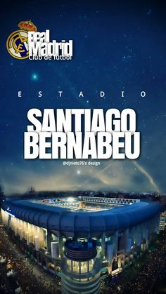 Estadio Santiago Bernabeu Real Madrid