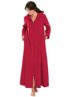 Women's ZipFront Sweatshirt Robe NE Gift Ideas