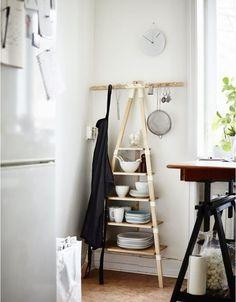 Ikea Ps 2014 Wall Shelf With 11 Knobs, Birch