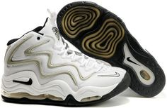 detailed look ccb36 8000c Nike Air More Uptempo Scottie Pippen Shoes White Gray Black Sport  Basketball Sneakers,