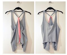7 easy diy t shirts tank tops perfect for summer - T Shirt Design Ideas Cutting
