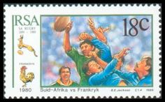 Australian Rugby on Stamps - 1989