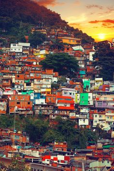 Week A favela is a low-income historically informal urban area in Brazil. The first favela, now known as Providência in the center of Rio de Janeiro, appeared in the late century. Favelas grew because of migration into the city. Tromso, Places To Travel, Travel Destinations, Places To Visit, Travel Tips, Favelas Brazil, Travel Around The World, Around The Worlds, Colombia