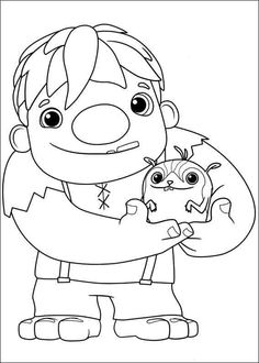 wallykazam coloring pages 2